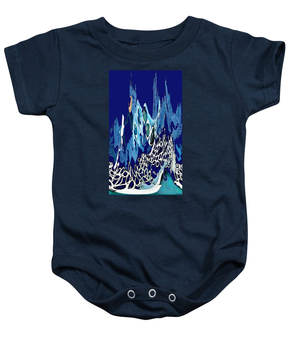 Arctic Sea Baby Onesie featuring the photograph Arctic Sea by Merja Waters