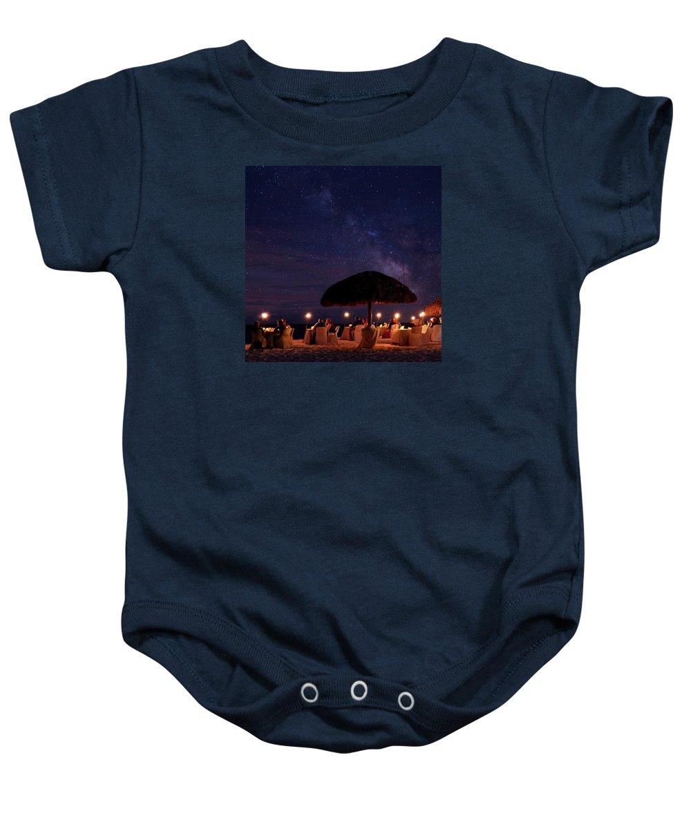 Long Exposure Baby Onesie featuring the photograph Atmosphere by DJ Florek