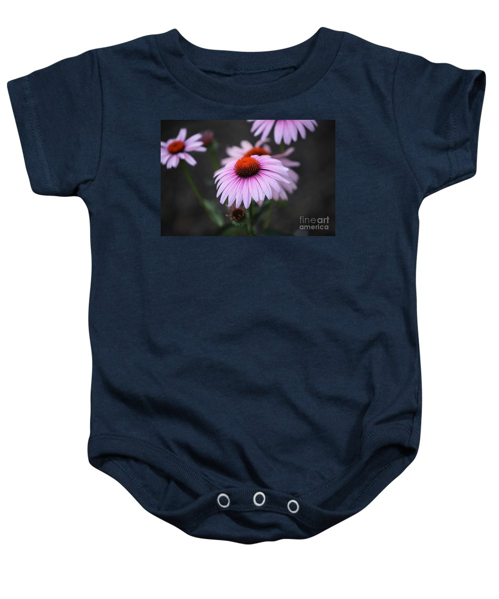 Alan Barcon Baby Onesie featuring the photograph Backyard Wonders by Amanda Barcon