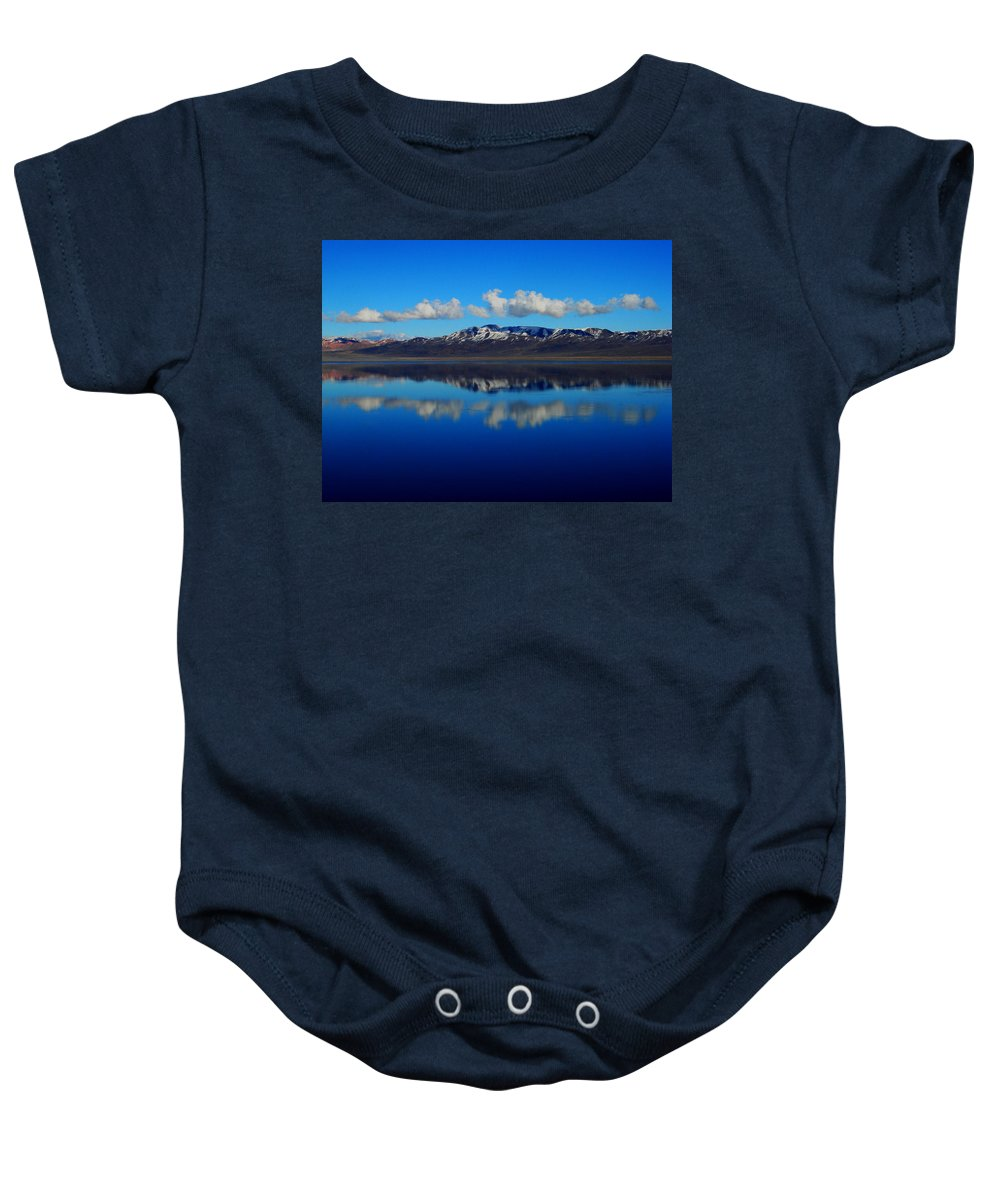Landscape Baby Onesie featuring the photograph Beauty by Linda Arnn Arteno