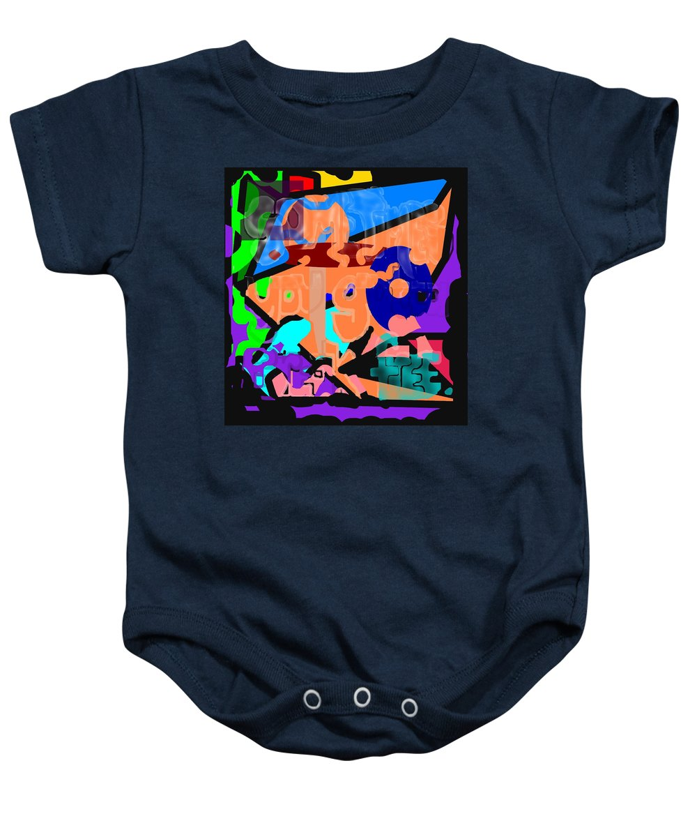 Free Baby Onesie featuring the digital art Break Free by Pharris Art