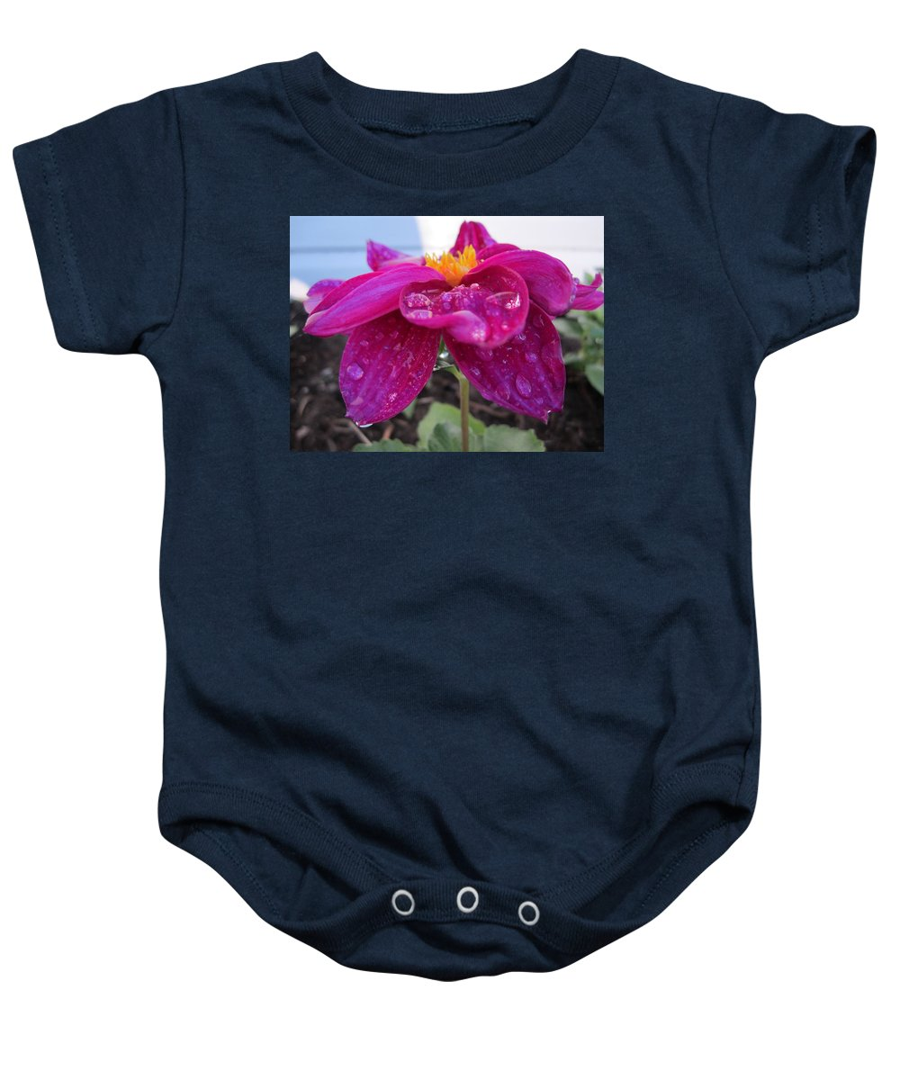 Flower Baby Onesie featuring the photograph Catch Me by N C