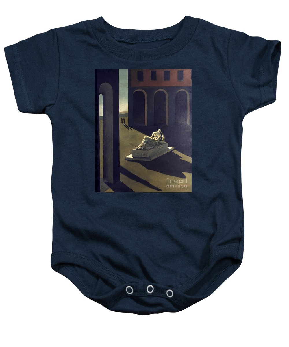 1914 Baby Onesie featuring the photograph Chirico: Melancolie, 1914 by Granger