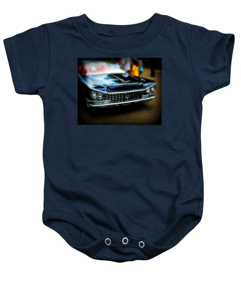 Car Baby Onesie featuring the photograph Classic Car by Perry Webster