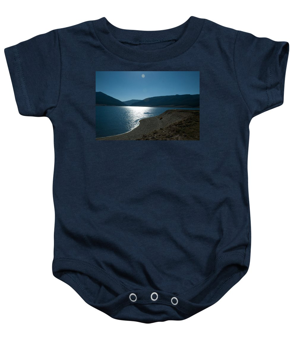 Coast Baby Onesie featuring the photograph Coastal View by Angus Hooper Iii