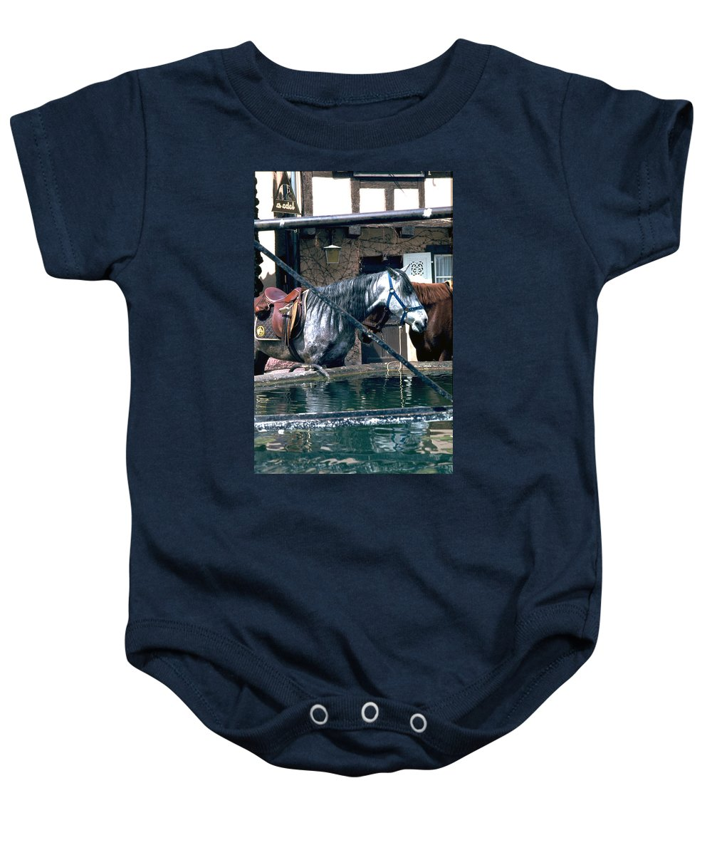 Colmar Baby Onesie featuring the photograph Colmar II by Flavia Westerwelle