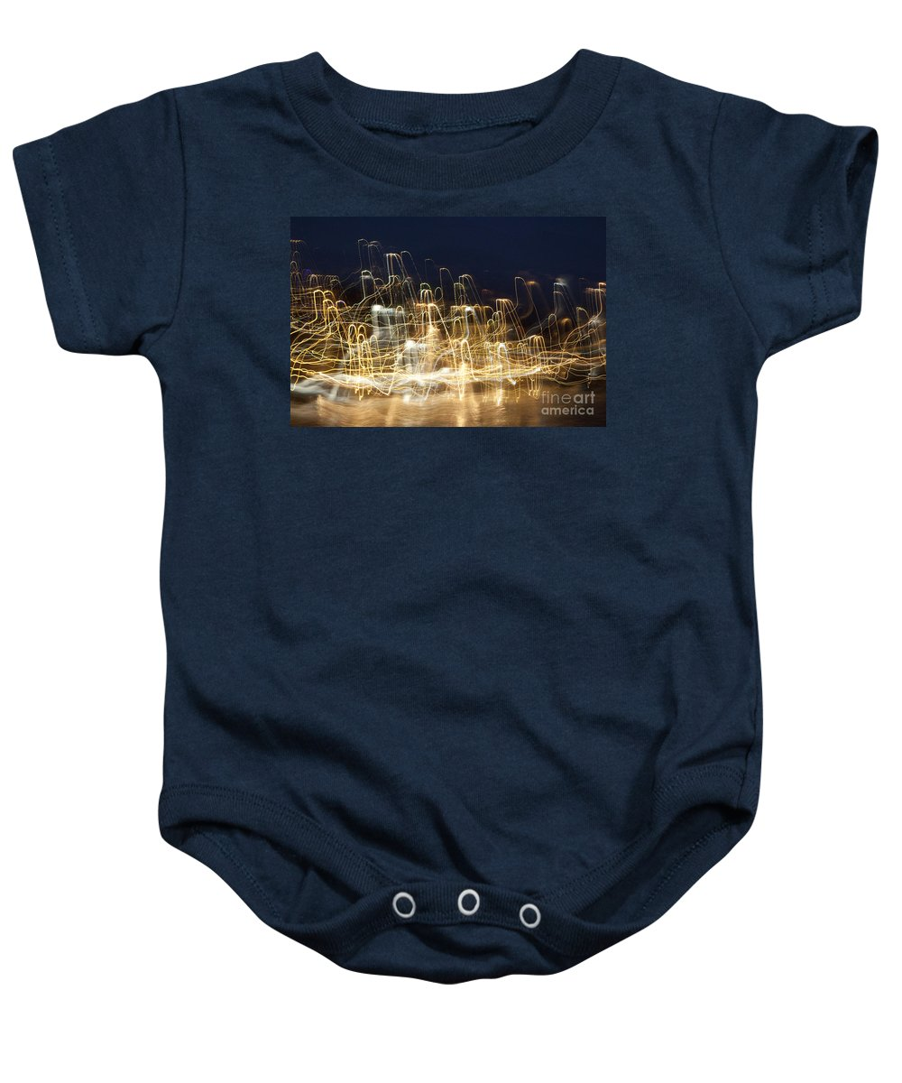 Expo Baby Onesie featuring the photograph Cretan Symphony-2 by Casper Cammeraat