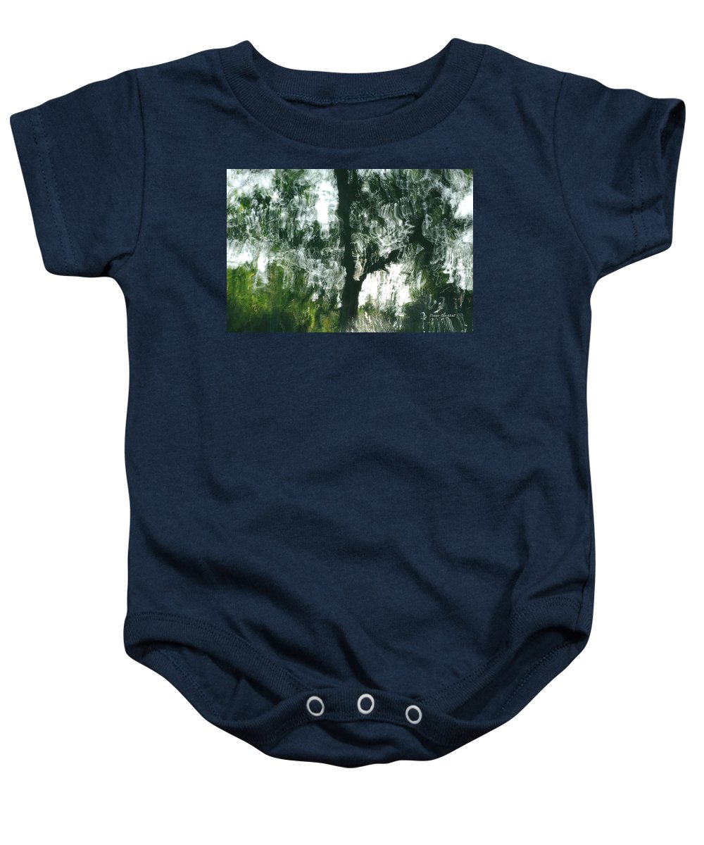 Water Baby Onesie featuring the photograph Dancing Trees by Donna Blackhall