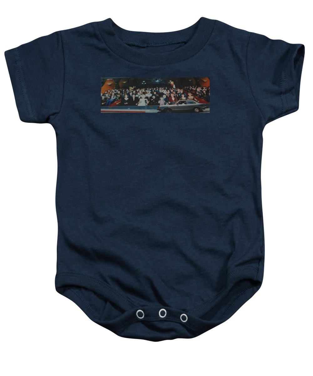 Movie Stars Baby Onesie featuring the photograph Dead Stars by Rob Hans