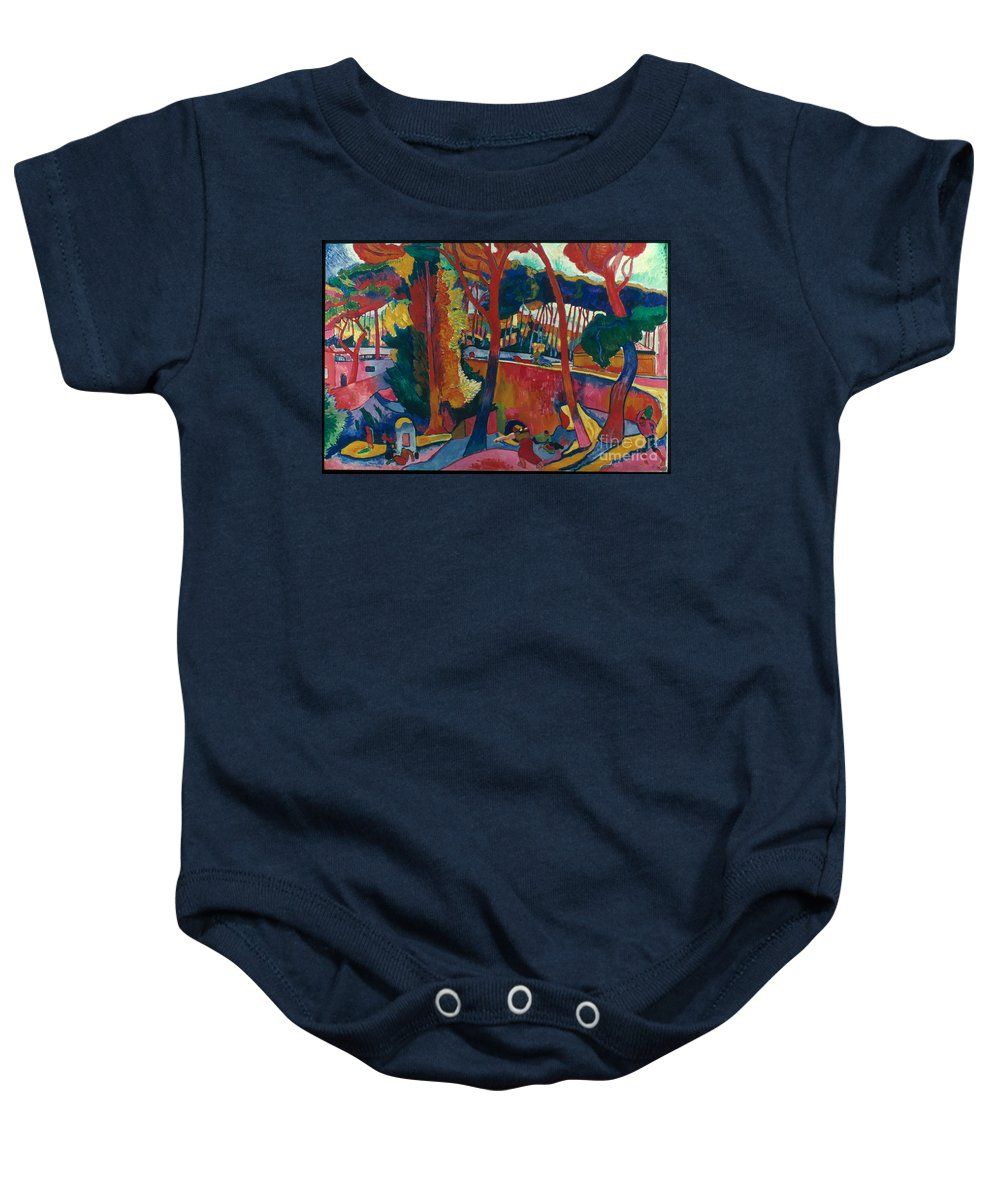 1906 Baby Onesie featuring the photograph Derain: Lestaque, by Granger