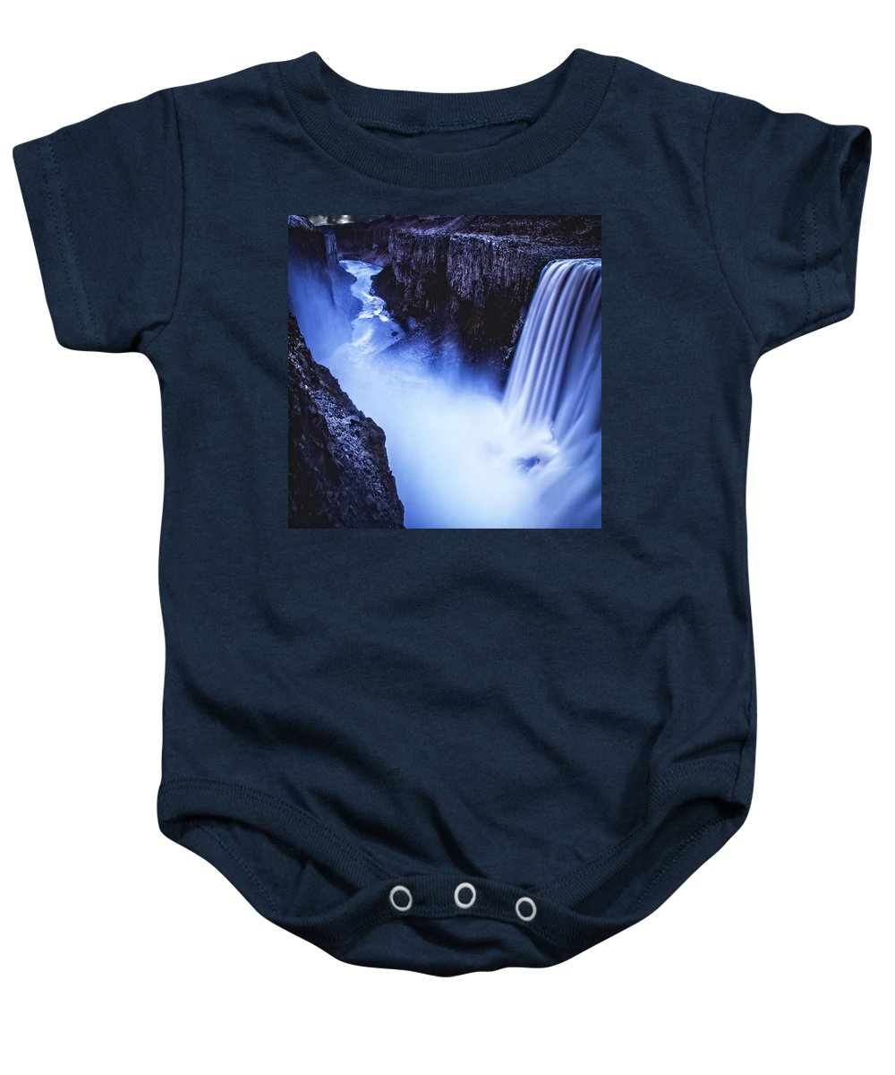 Iceland Baby Onesie featuring the photograph Dettifoss by Ingrid Smith-Johnsen