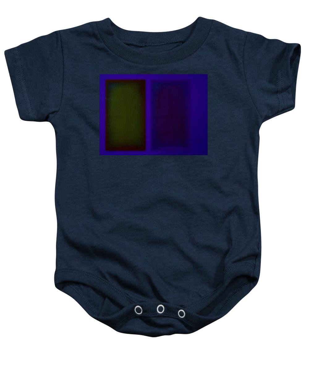 Rothko Baby Onesie featuring the painting Doors Of Perception by Charles Stuart