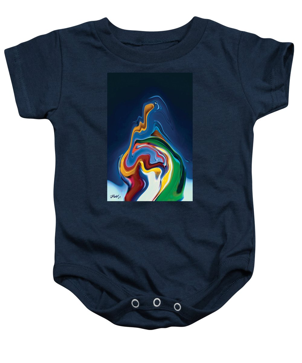 Baby Onesie featuring the digital art Embrace by Rabi Khan