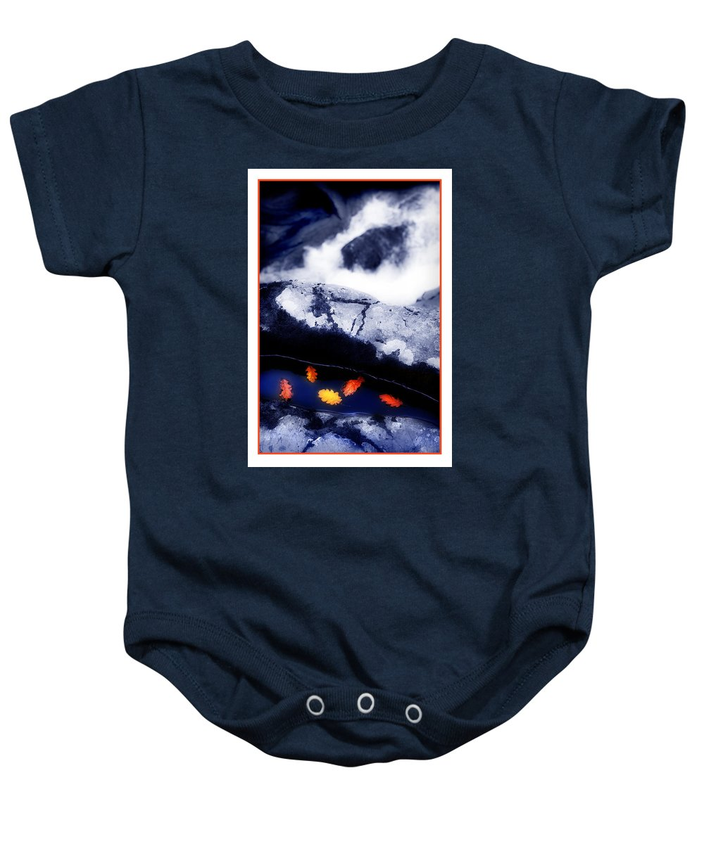 Water Baby Onesie featuring the photograph Fall Quintet by Mal Bray