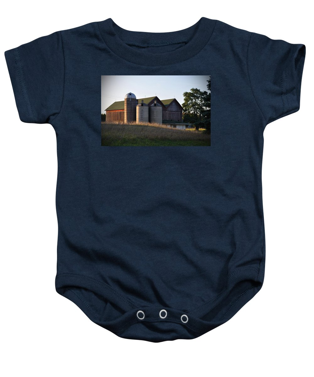 Fall Baby Onesie featuring the photograph Family by Tim Nyberg
