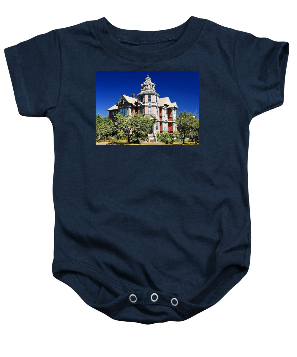 Russian Orthodox Baby Onesie featuring the photograph Great Old House by David Lee Thompson