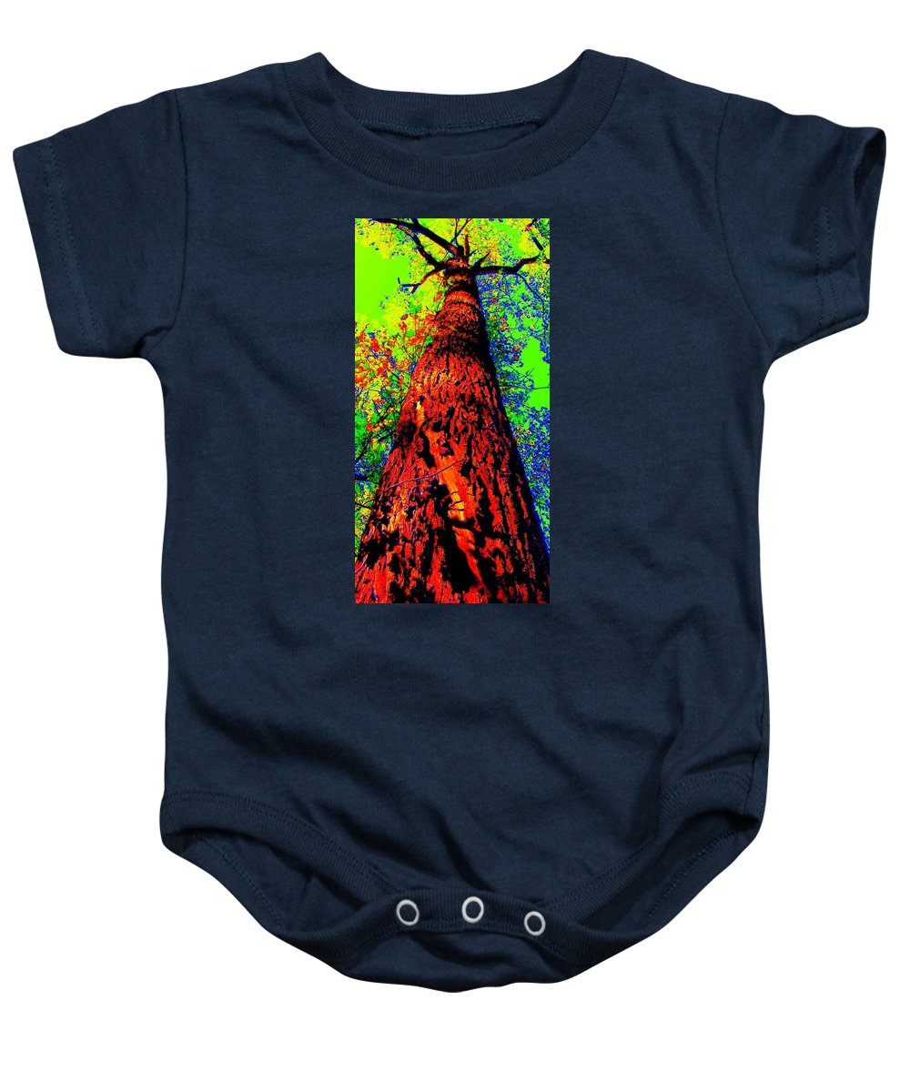 Hello Mother Baby Onesie featuring the photograph Hello Mother by Ed Smith