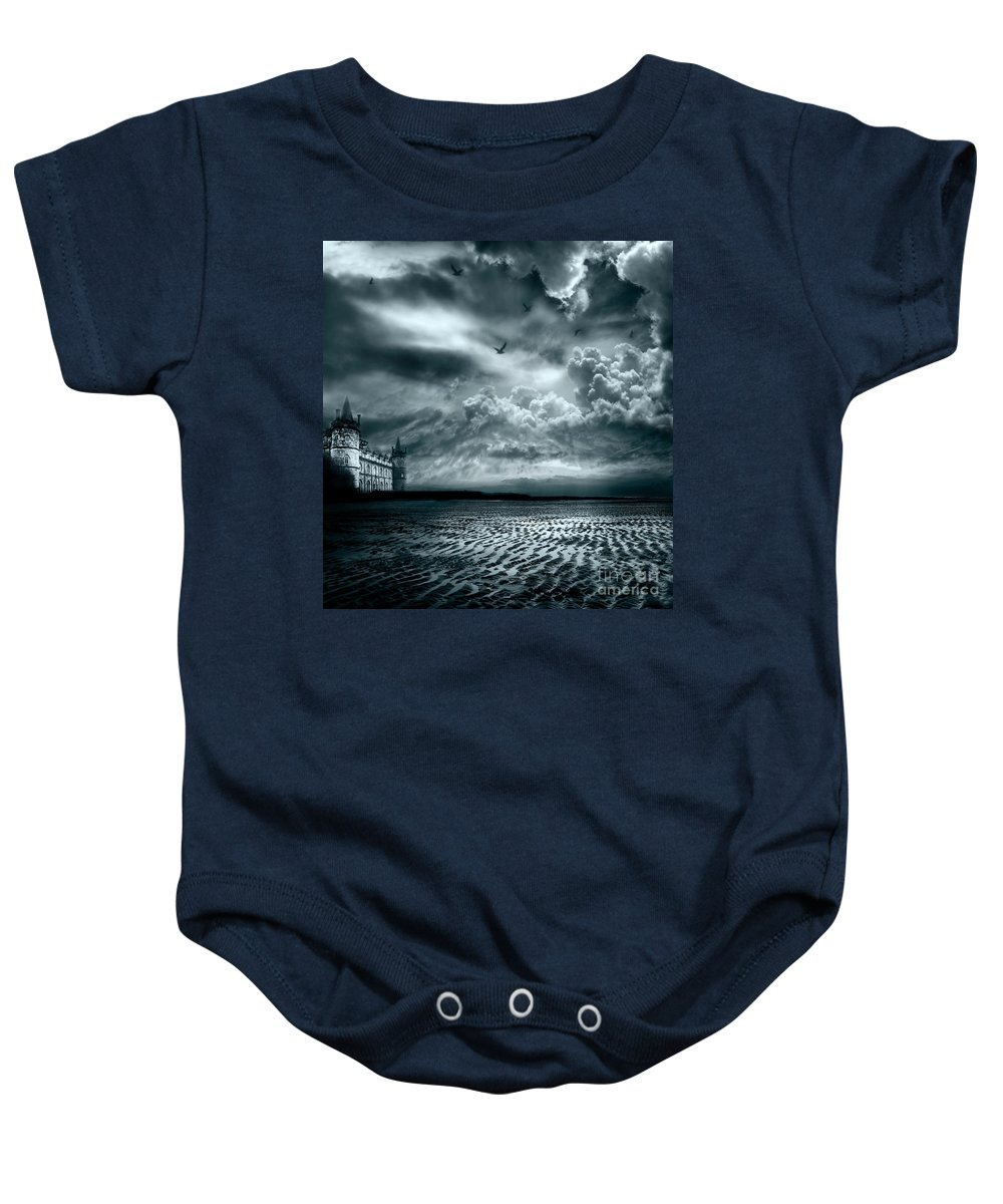 Beach Baby Onesie featuring the photograph Home by Jacky Gerritsen