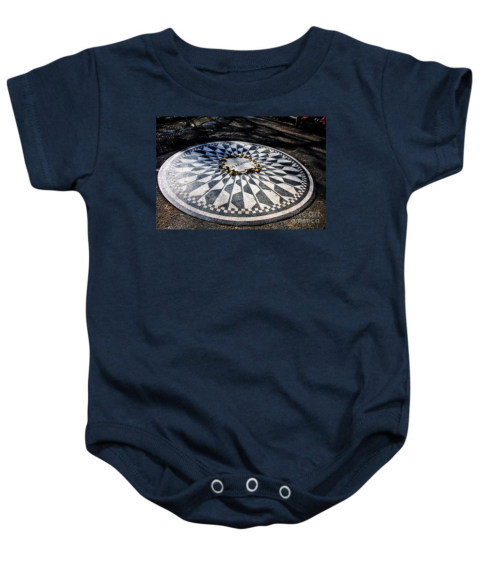 Imagine Baby Onesie featuring the photograph Imagine by Thomas Marchessault