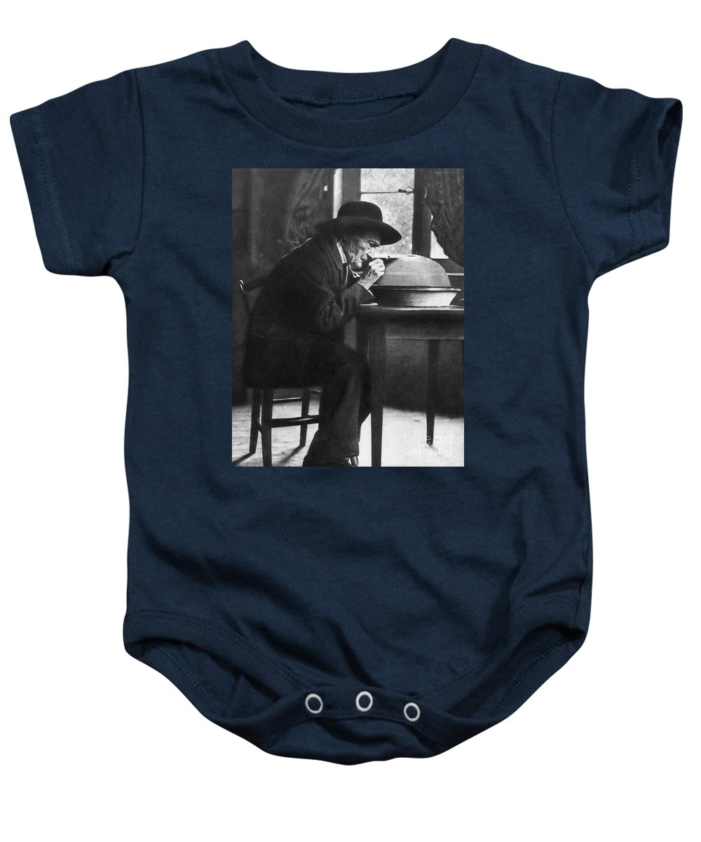 19th Century Baby Onesie featuring the photograph Jean Henri Fabre by Granger
