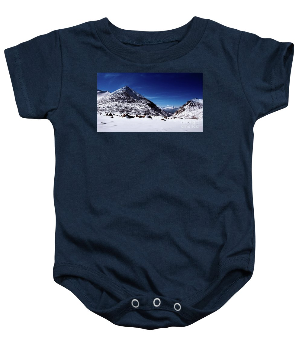 Ladakh Baby Onesie featuring the photograph Ladakh, India by Peter Rodger