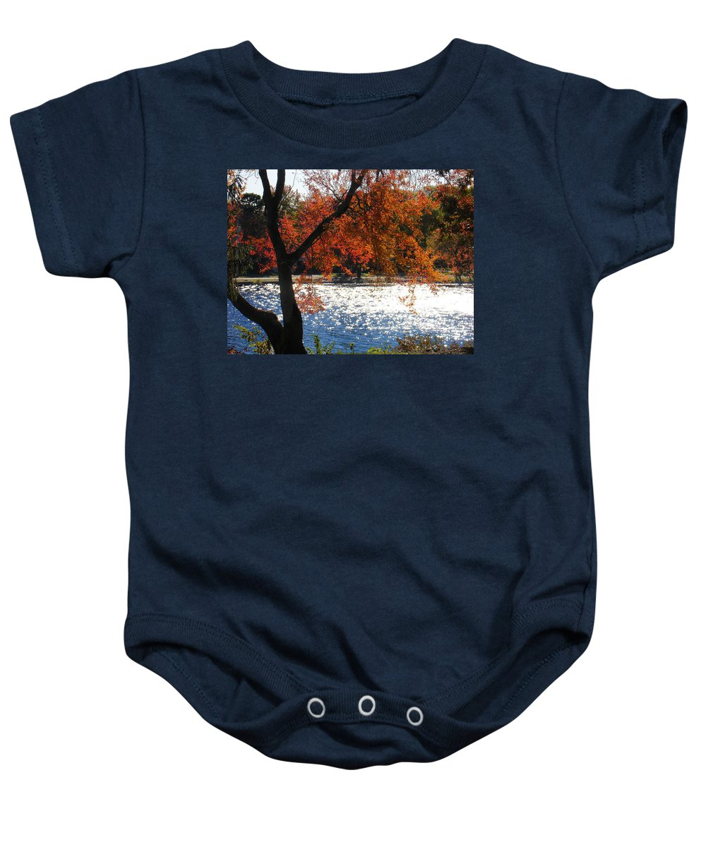 Landscape Baby Onesie featuring the photograph Lakewood by Steve Karol