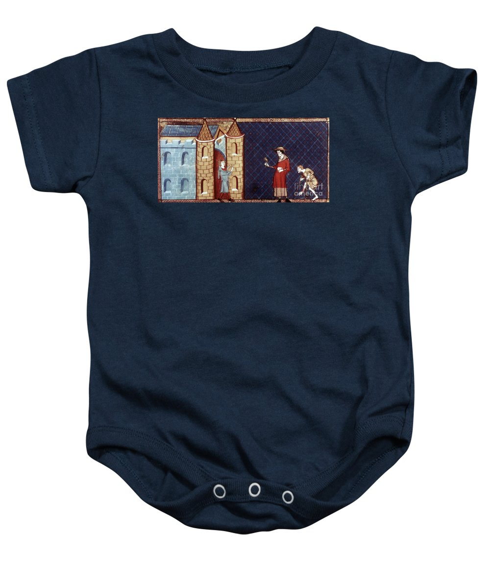 13th Century Baby Onesie featuring the photograph Leper House, C1220-1244 by Granger