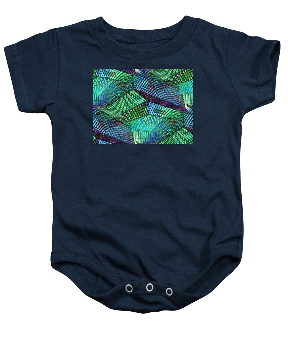 Seattle Baby Onesie featuring the photograph Library Angles by Tim Allen