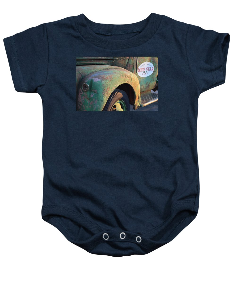 Helotes Baby Onesie featuring the photograph Lone Star Memories by Carolina Liechtenstein
