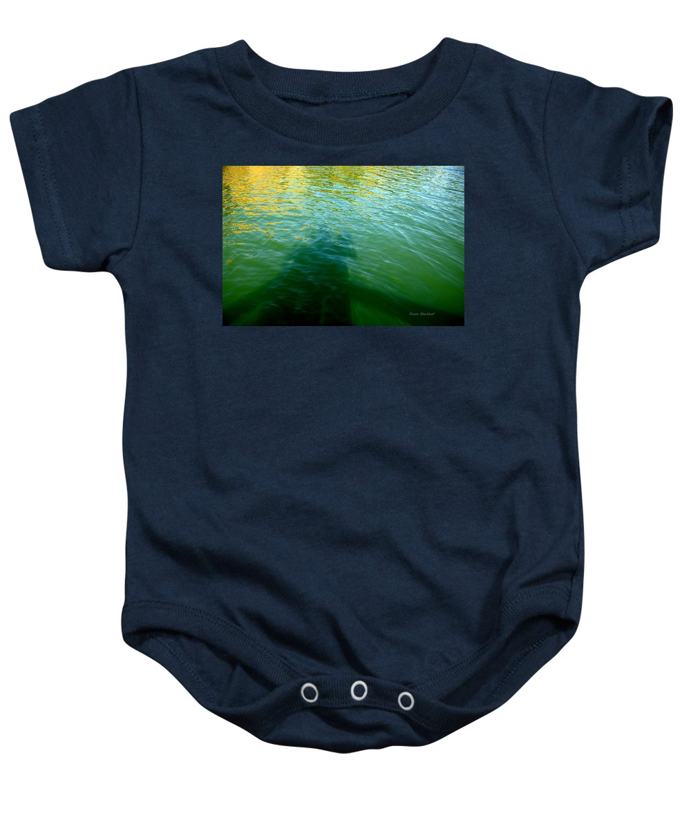 Water Baby Onesie featuring the photograph Love In The Afternoon by Donna Blackhall