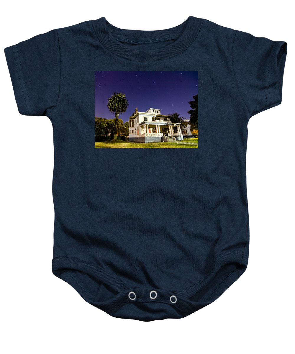 California Scenes Baby Onesie featuring the photograph Mare Island by Norman Andrus