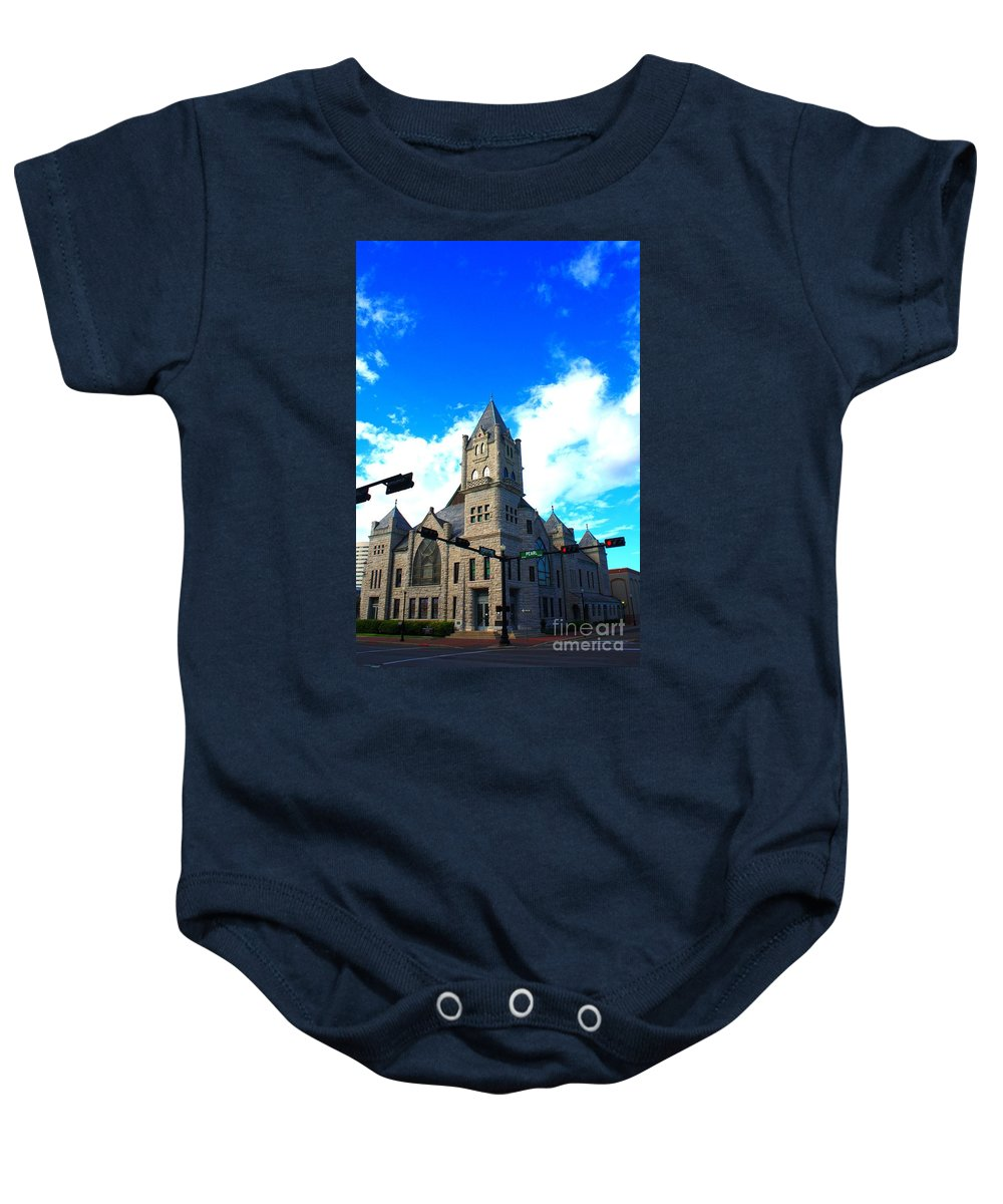 Castle Baby Onesie featuring the photograph Miniature Castle by John W Smith III