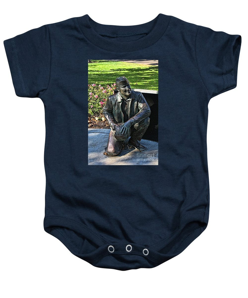 Naval Aviator Baby Onesie featuring the photograph Naval Aviator Sculpture by Tommy Anderson