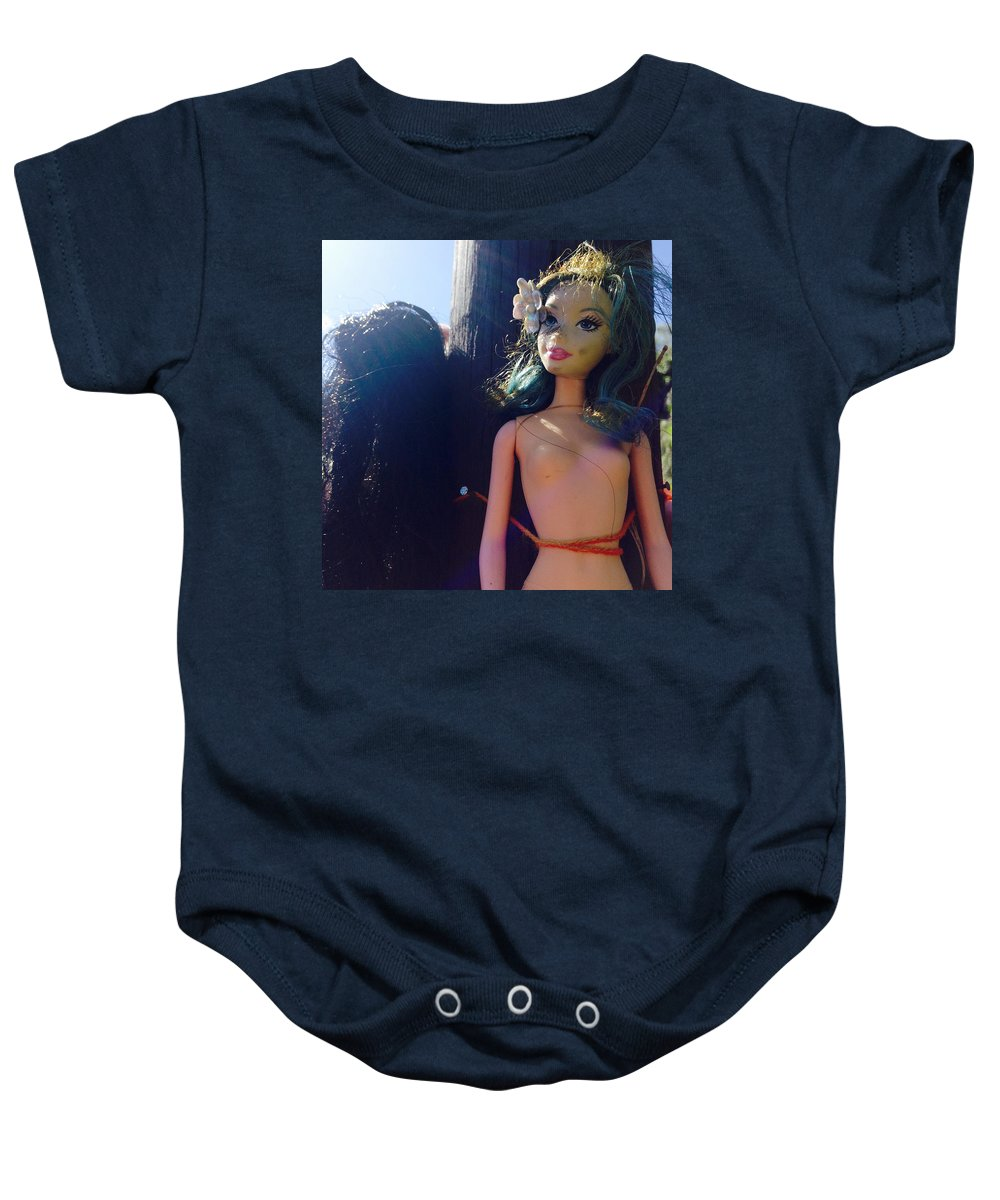 Photograph Baby Onesie featuring the photograph Nice Day For It by Kelly King
