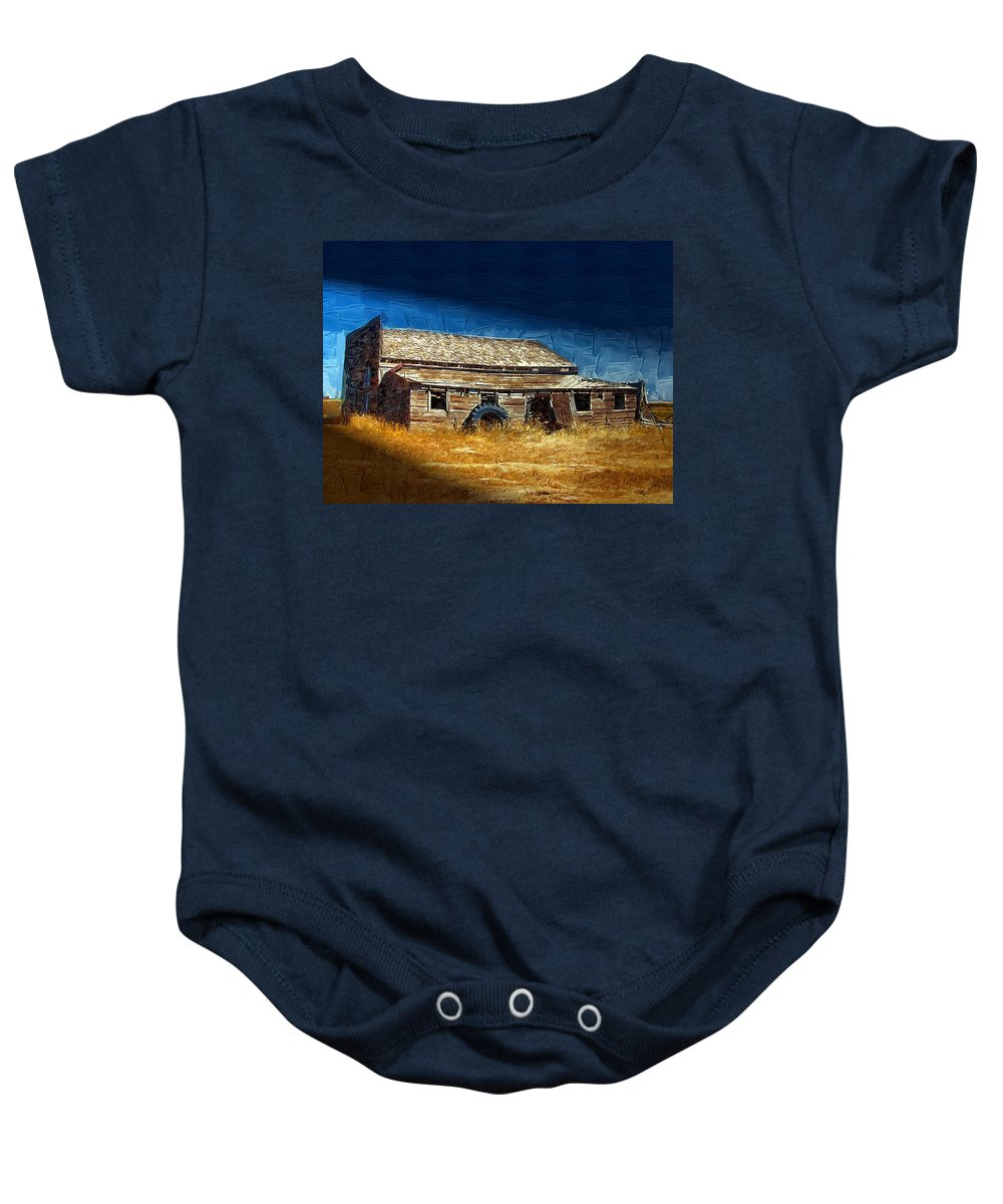Window Baby Onesie featuring the photograph Night Shift by Susan Kinney