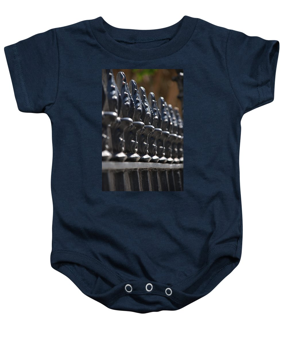 Photography Baby Onesie featuring the photograph No Borders by Susanne Van Hulst