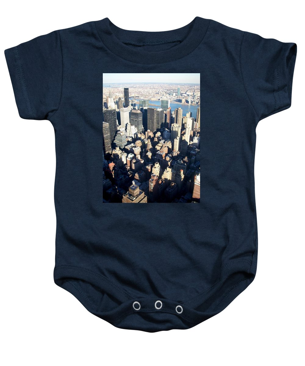 Nyc Baby Onesie featuring the photograph Nyc 4 by Anita Burgermeister