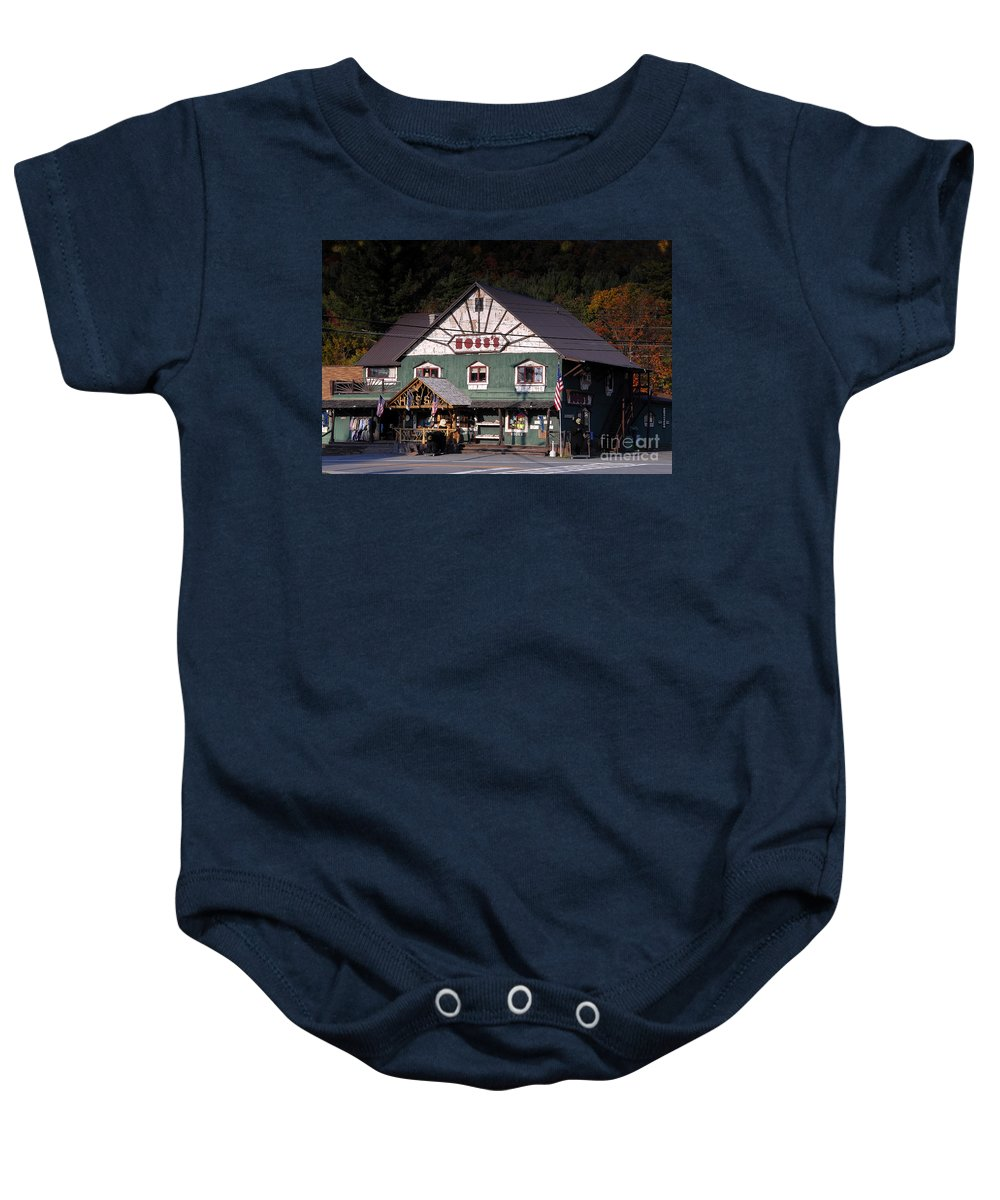 Old Store Baby Onesie featuring the photograph Old Hoss's by David Lee Thompson
