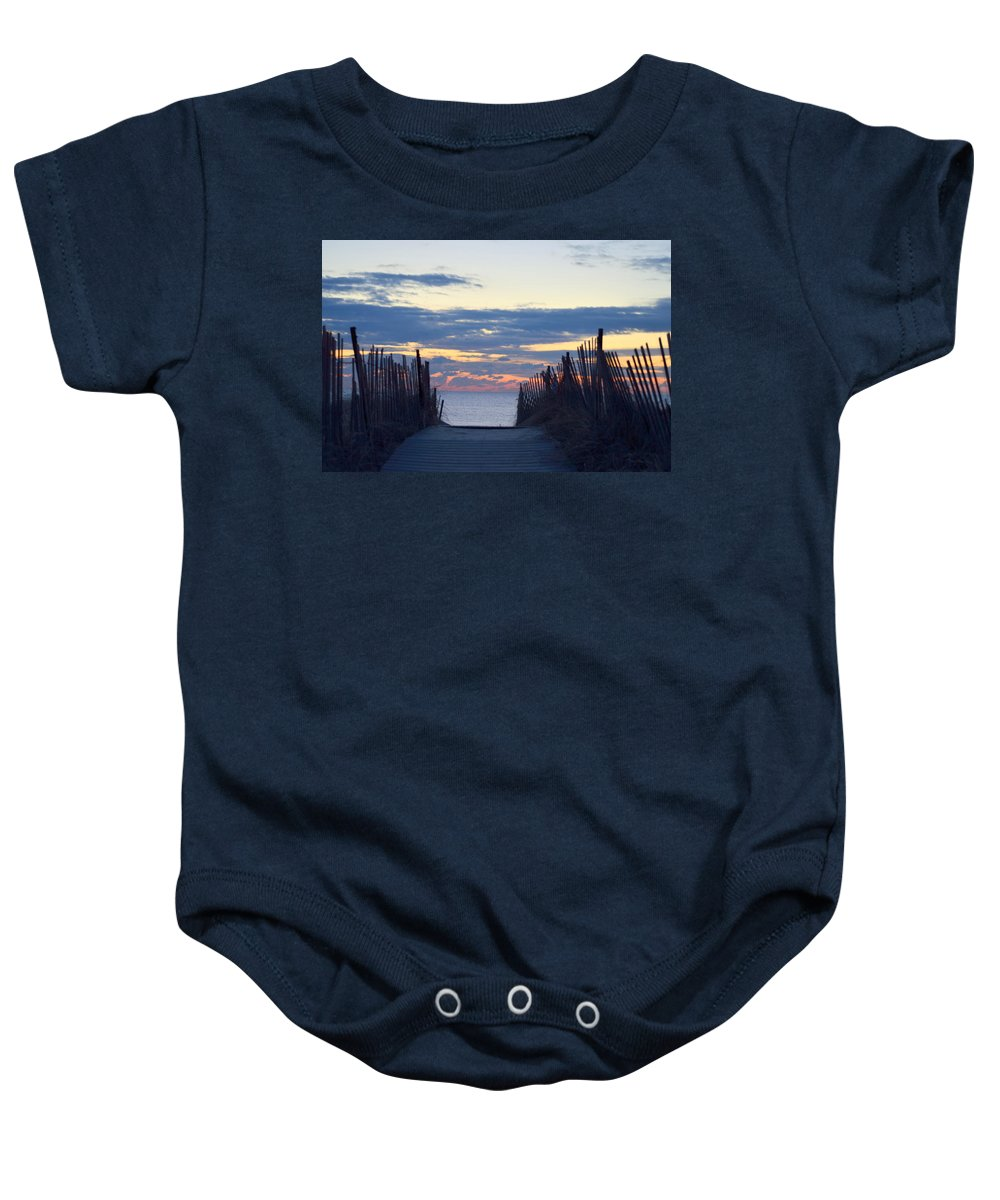 Baby Onesie featuring the photograph Path To Tranquility by Amy Taylor