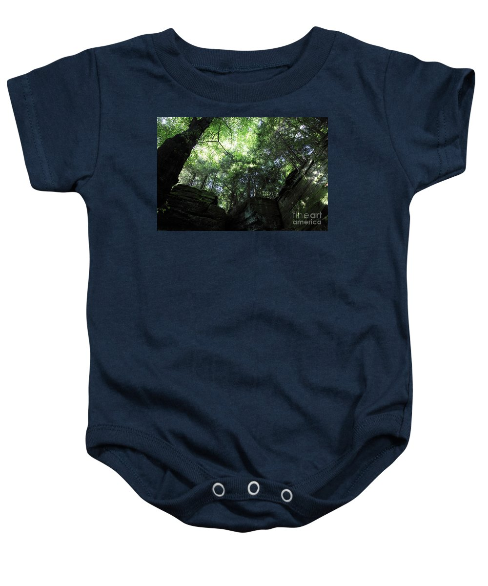 Nature Baby Onesie featuring the photograph Peace All Around by Amanda Barcon