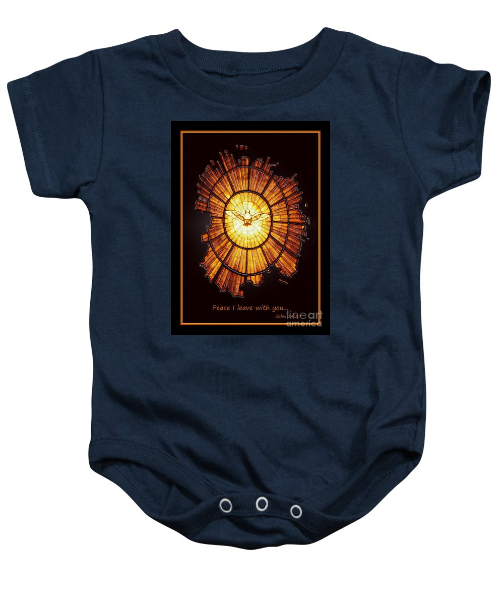 Peace Baby Onesie featuring the photograph Peace And Comfort by Carol Groenen