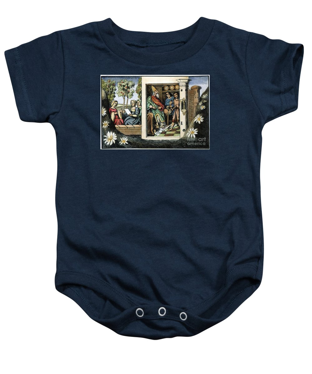 15th Century Baby Onesie featuring the photograph Persian Assassins by Granger