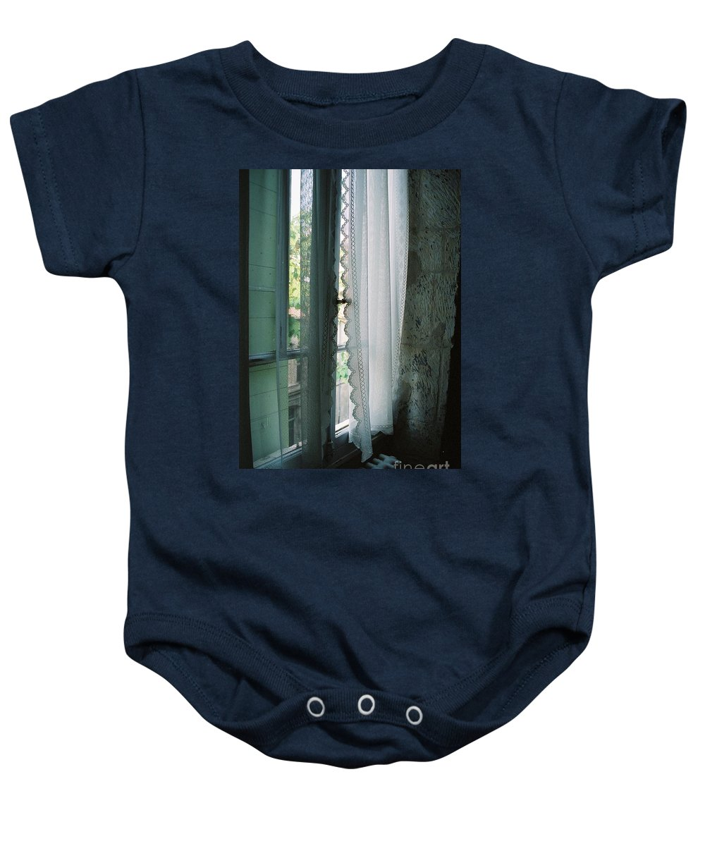 Arles Baby Onesie featuring the photograph Rest by Nadine Rippelmeyer