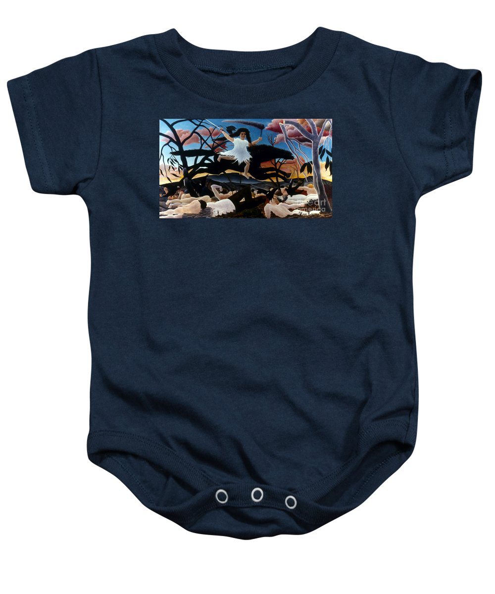 1894 Baby Onesie featuring the photograph Rousseau: War, 1894 by Granger