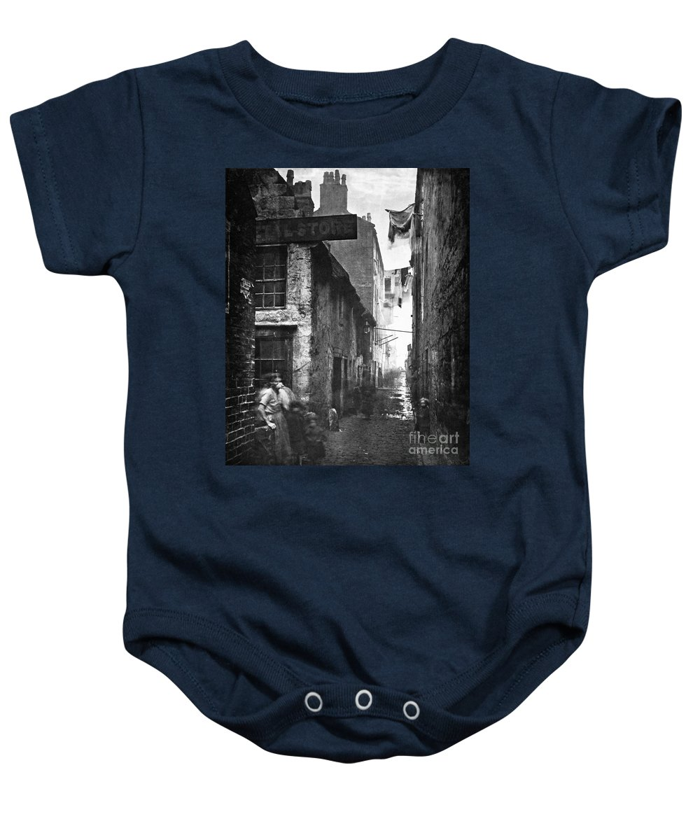 1868 Baby Onesie featuring the photograph Scotland: Glasgow, 1868 by Granger