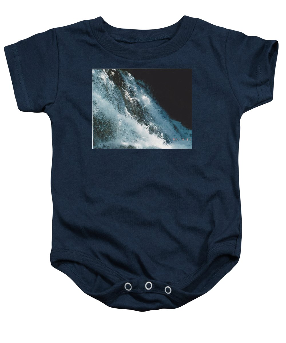Water Baby Onesie featuring the photograph Splash by Michelle Powell