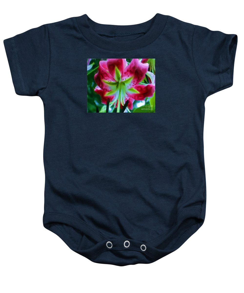 Fine Art Photography Baby Onesie featuring the photograph Stargazer by Patricia Griffin Brett