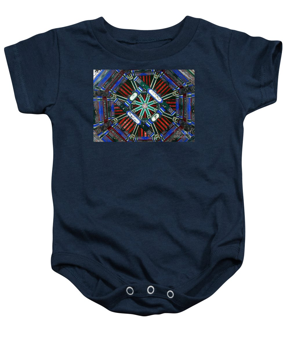 China Baby Onesie featuring the photograph Summer Palace Patterns by Carol Groenen