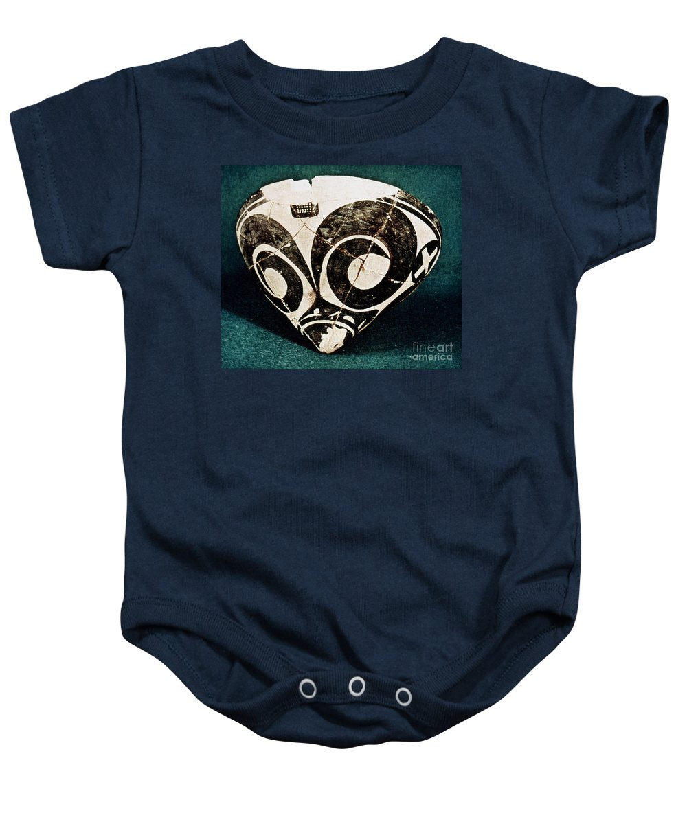 3500 B.c. Baby Onesie featuring the photograph Susa Ware Bowl by Granger
