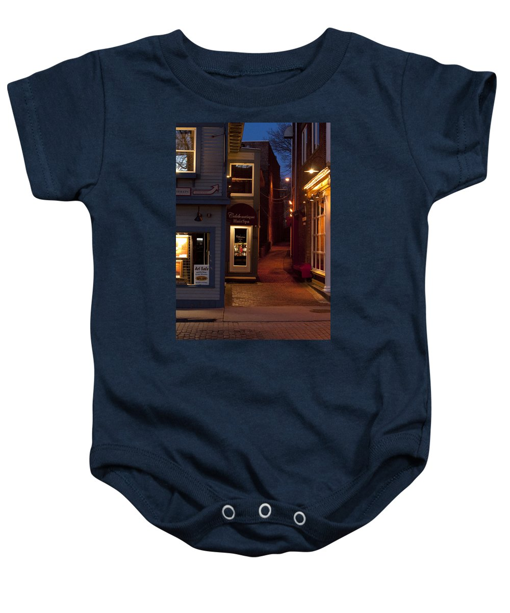 Art Sale Baby Onesie featuring the photograph The Art Sale by Steven Natanson